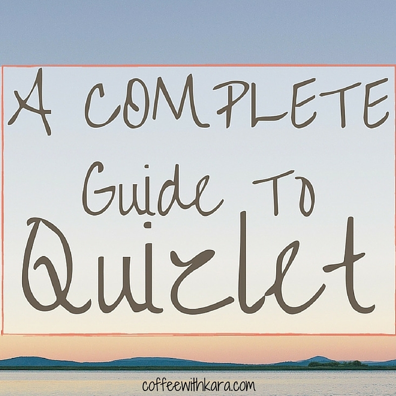 A Complete Guide to Quizlet