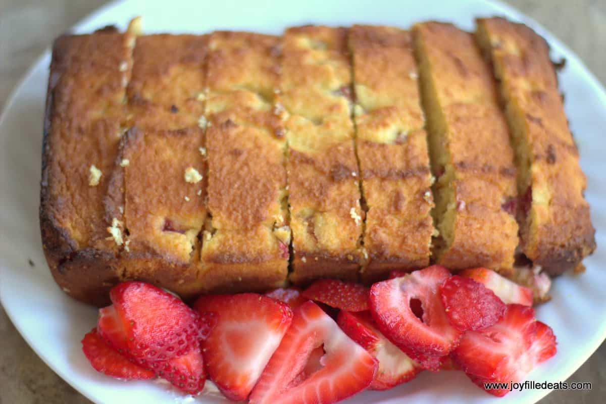 Strawberry Shortcake - Sugar Free, Low Carb, Gluten Free, Grain Free, THM S