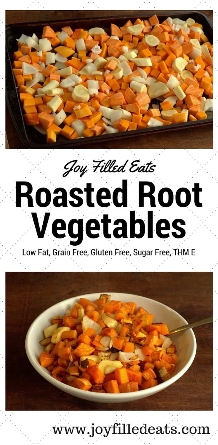 Roasted Root Vegetables - Low Fat, Grain Free, Gluten Free, Sugar Free ...