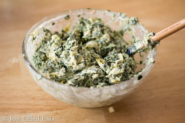 Lazy Spinach Artichoke Chicken - Low Carb, Grain Free, THM S