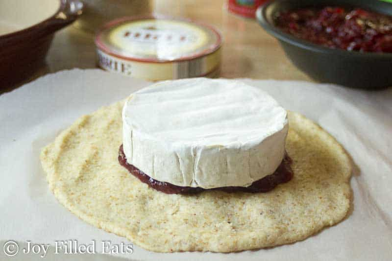 Cranberry Baked Brie - Low Carb, Sugar Free, THM S, Grain Free