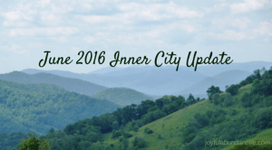Inner City Ministry Update