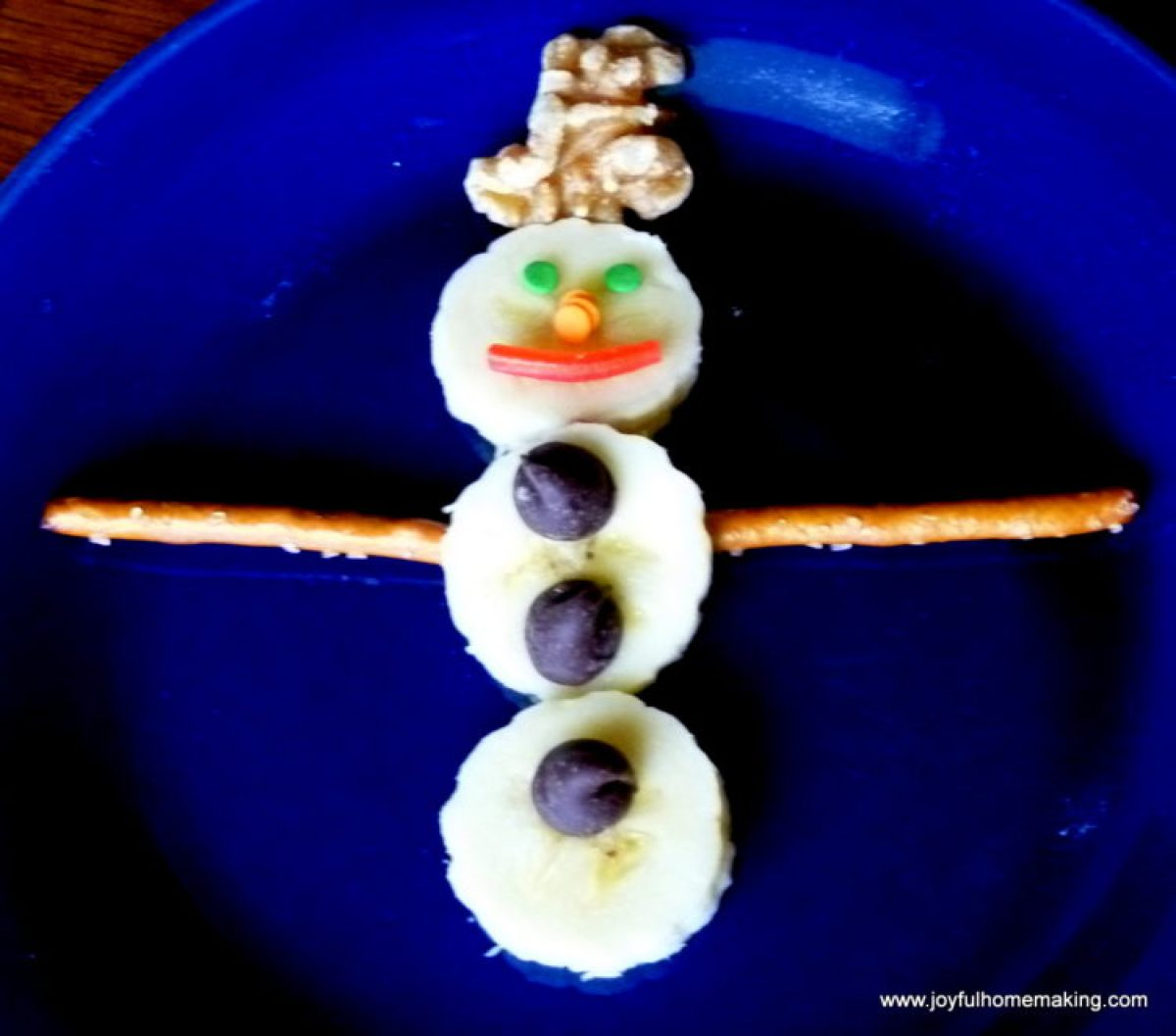 Edible Snowman Fun