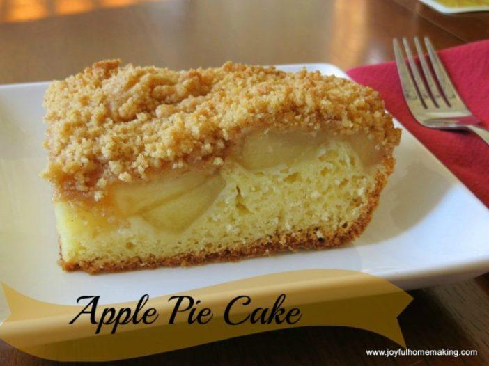 Scrumptious Apple Pie Cake