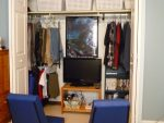 Closet and gaming station