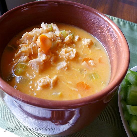 buffalo chicken soup2