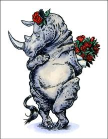 Bashful Rhino