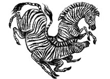 Zebra Valentine, Sugar Beet Press