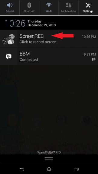 notification trigger
