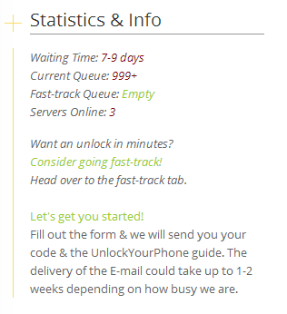 stats and info