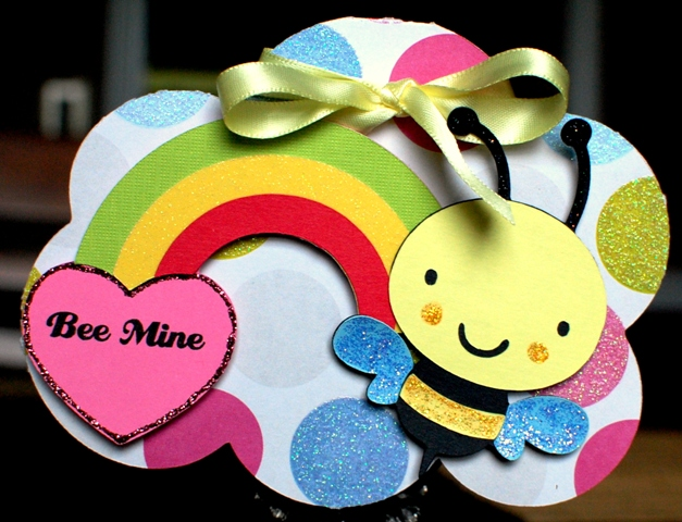 Featured Designer – Bee Mine Card Using Lots of Pun Stamp Set