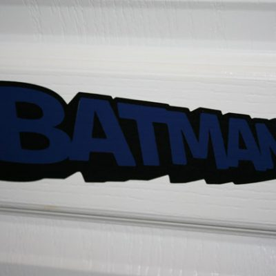 Batman Logo in Vinyl – Day 2 GIVE-A-WAY