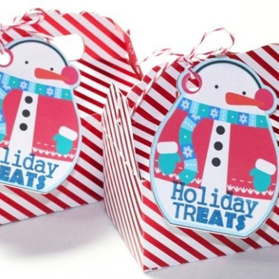 Sweet Treat Boxes with Peanut Butter Fudge – Happy Holidays Blog Hop