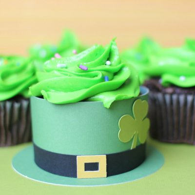 Leprechaun Hat Cupcake Wrapper