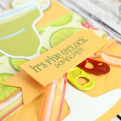 Margarita Card and Lime Box – Summer in 3D Blog Hop