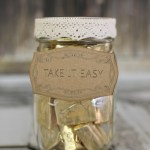 Take It Easy Candy Mason Jar with SEI
