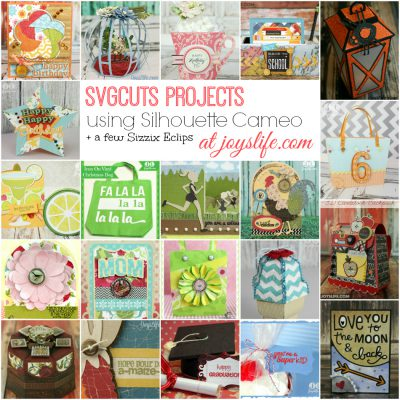 SVGCuts Projects with Silhouette Cameo & Free SVG Kit for Christmas from SVGCuts