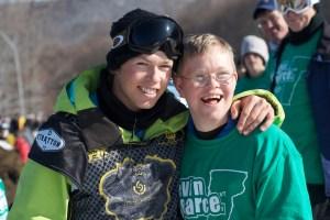 Kevin & Michael Pierce (left) courtesy of the Pierce family