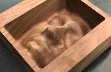 Face in Walnut