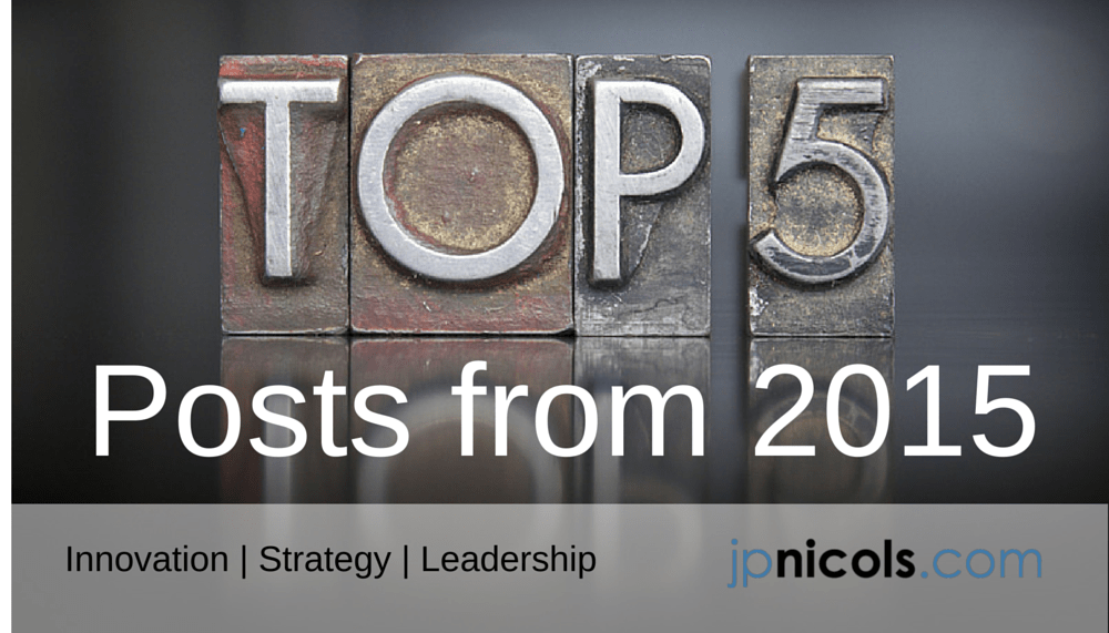 Top Five Posts from JP Nicols in 2015
