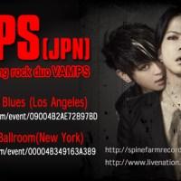 VAMPS announces December 2013 USA Tour dates