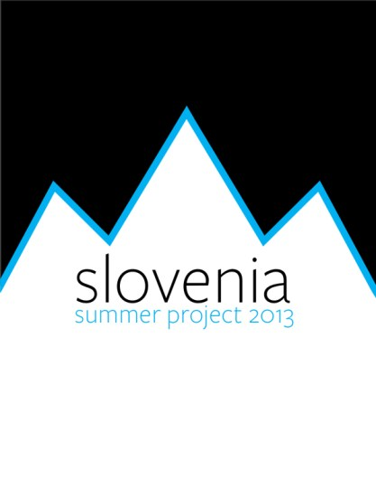 A logo for the 2013 Slovenia Summer Project