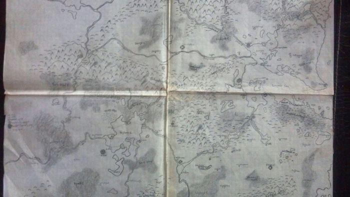 The Lands of Eastern Terrule.