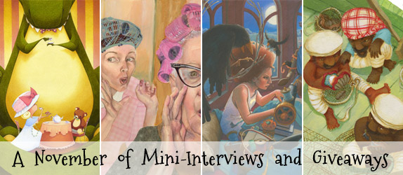 A November of Mini-Interviews and Giveaways