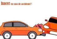 Que hacer en caso de accidente