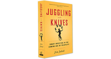 Announcing JugglingWithKnives.com–a website to go with my book on volatility