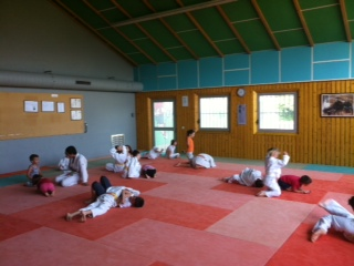 Stage de judo lundi 8 juillet 2013