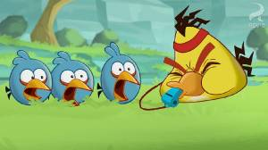 Vídeo de Angry Birds Toons Full Metal Chuck