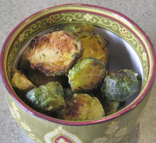 Roasted Brussel Sprouts -- Juggling With Julia
