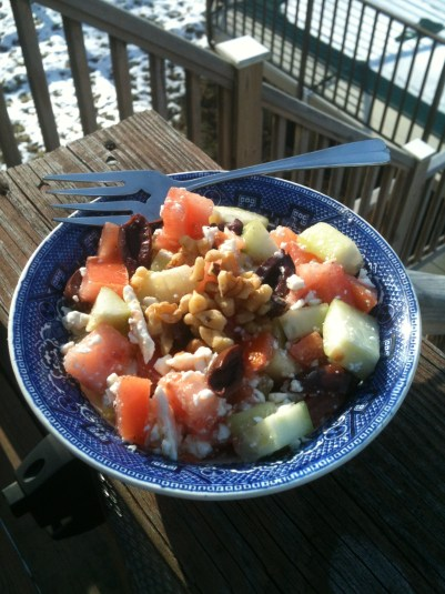 Mediterranean Chopped Salad -- Juggling With Julia