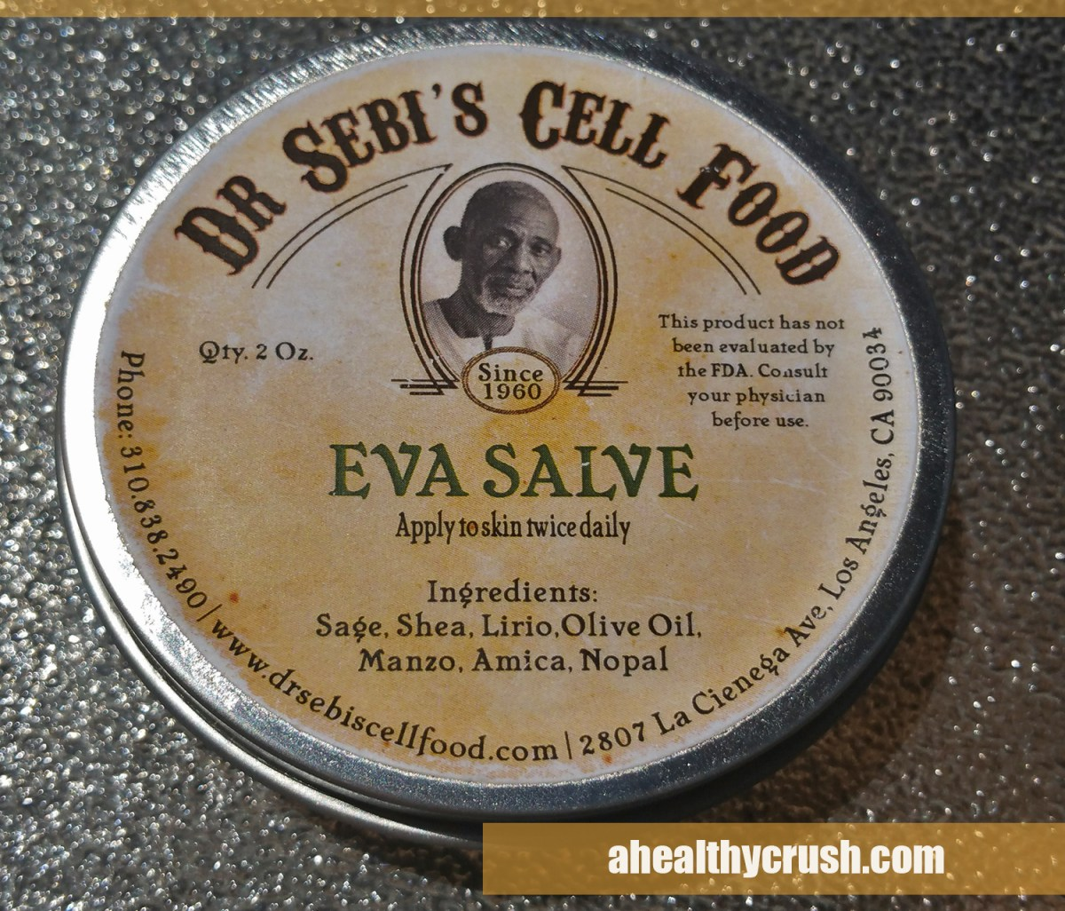 REVIEW | Dr. Sebi's Eva Salve