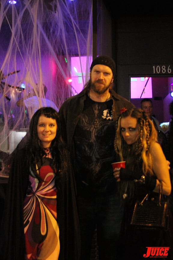 Cat Peterson, Tyler Mane and Chloe Trujillo