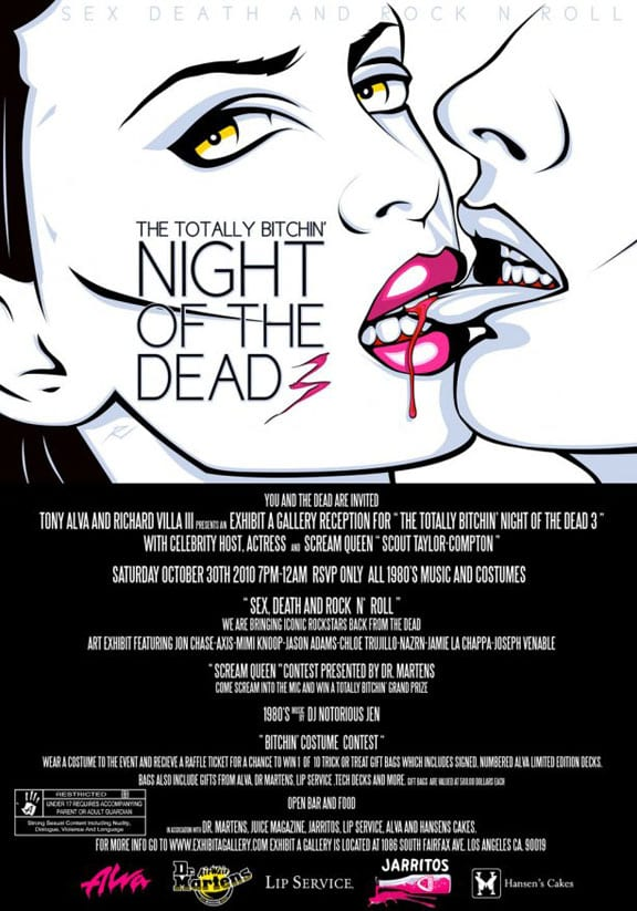 Totally Bitchin Night of the Dead 3