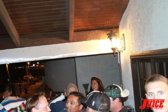 Punk Rock Karaoke at the bar
