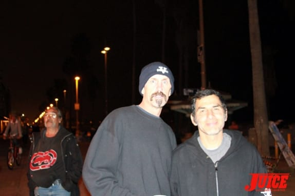 Dennis with Jesse Martinez