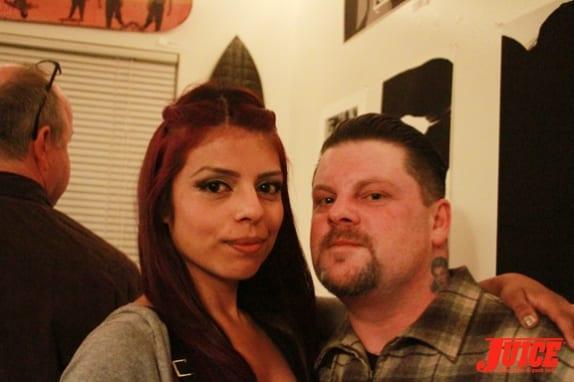 Eric Dressen and girlfriend