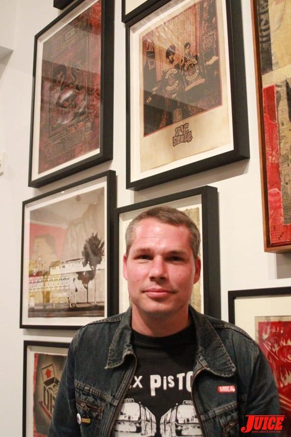 Shepard Fairey. Photo: Dan Levy