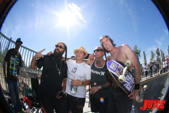 CHRISTIAN HOSOI, JAY ADAMS, DAVID HACKETT. Photo: Dan Levy