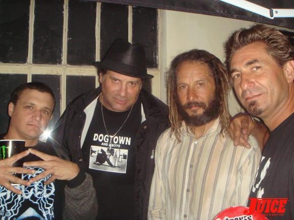 Jake Brown, Dave Duncan, Tony Alva & Ed Reategui