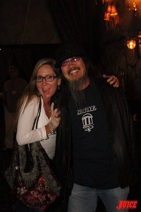Laura Thornhill and Jeff Ho