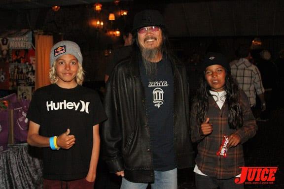 Curren Caples, Jeff Ho and Louie Lopez