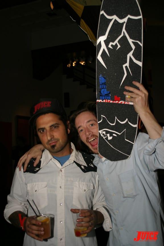 Yaniv Evan and Chris Casey