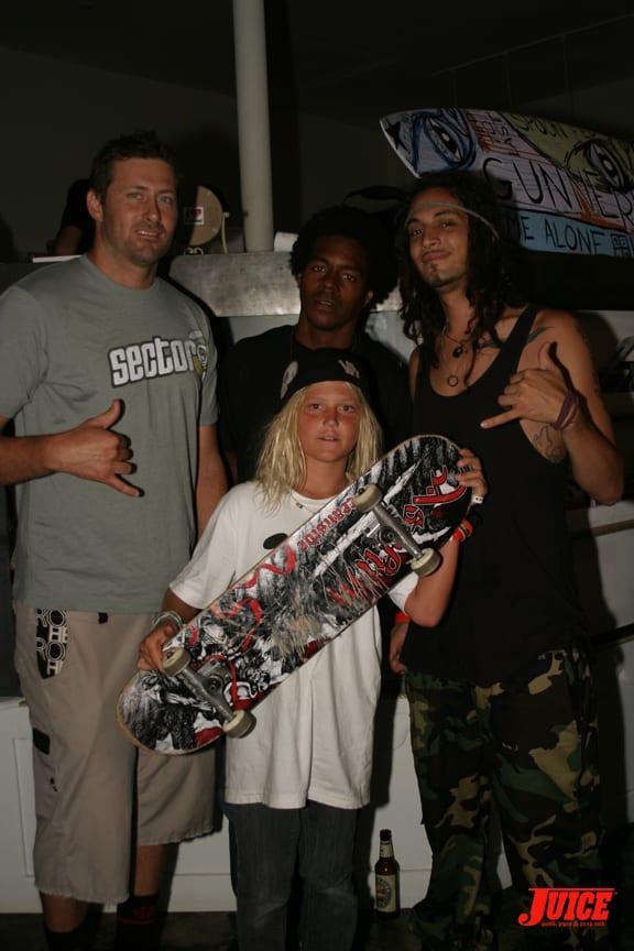 Freedom Fisher, Eric Tuma Britton, Bobby Rodriguez