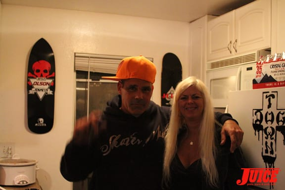Joe Ayala and Terri Craft