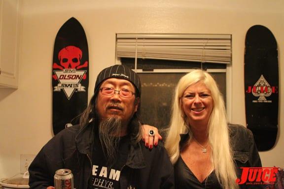 Jeff Ho and Terri Craft