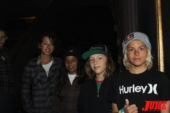 Louie Lopez and Curren Caples